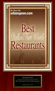Best Dallas Fort Worth Restaurants 2013
