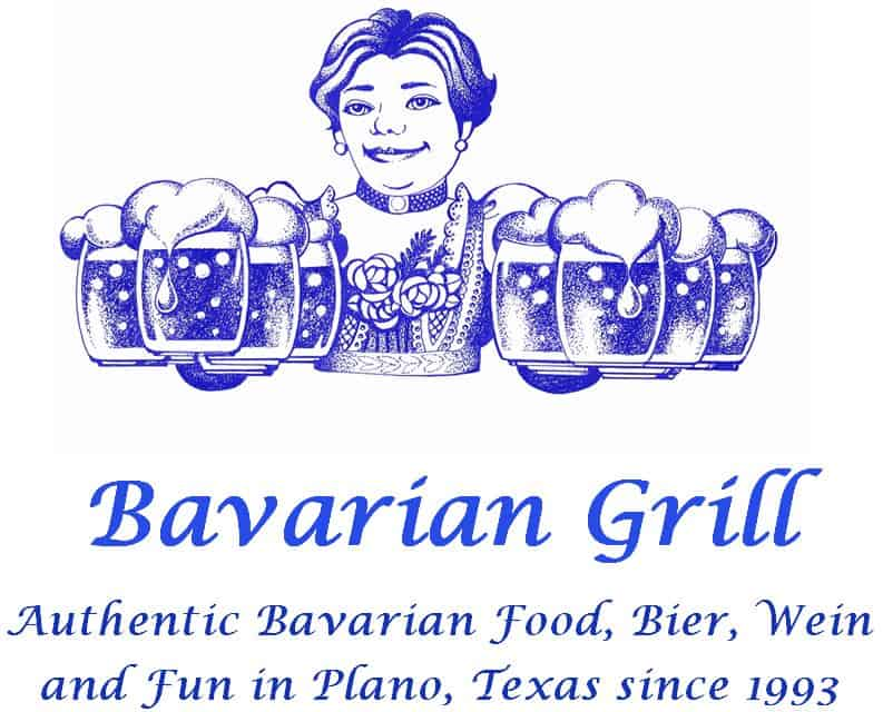 Bavarian Grill Logolady and slogan