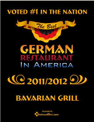 Voted In The Nation 2011-2012 | German Restuarant