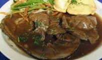 Bavarian Grill German Restaurant Roasted Leg Lamb